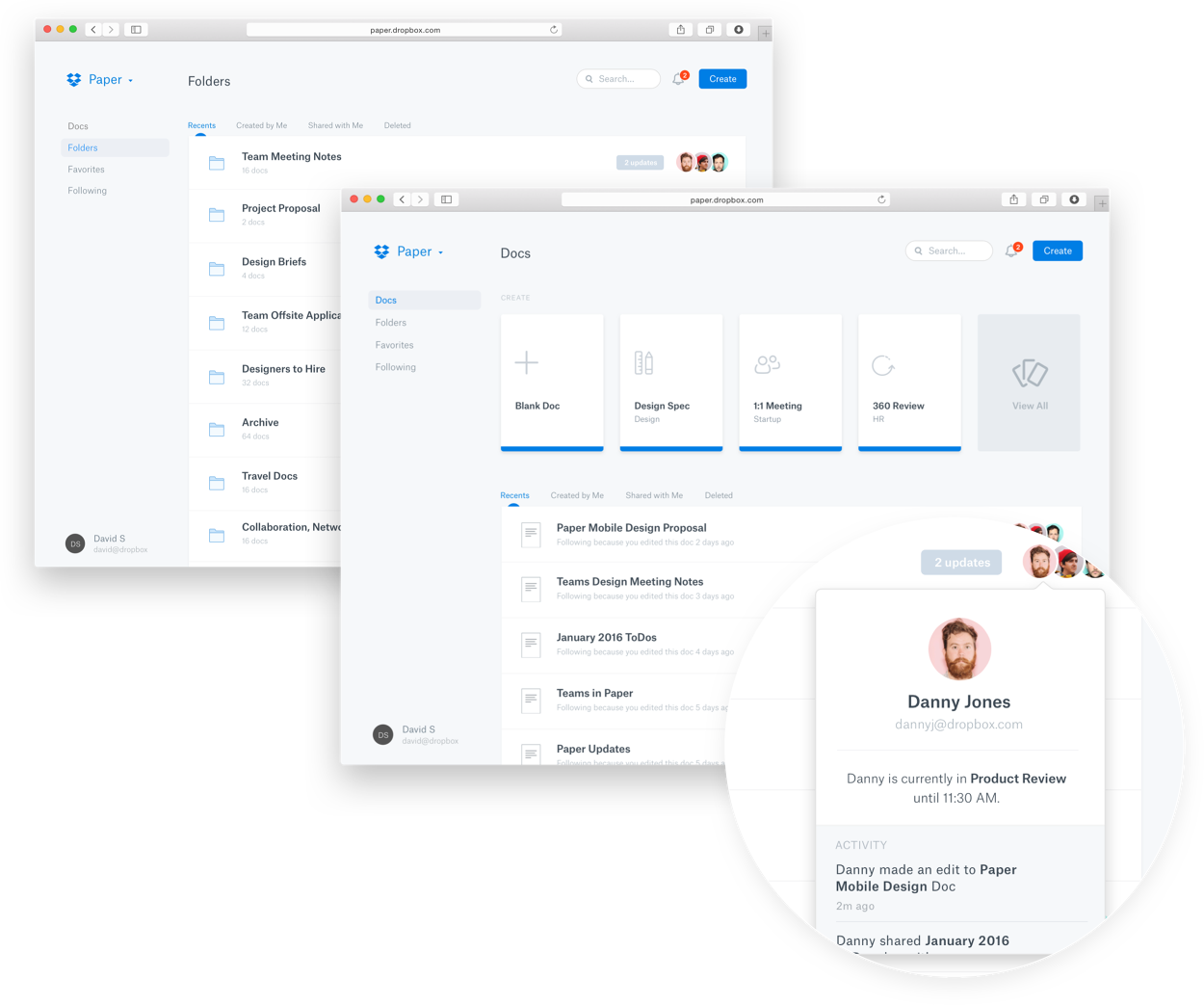 dropbox paper jeremiah shaw select from a wide range of templates to get a jump start on the type of work you need to accomplish